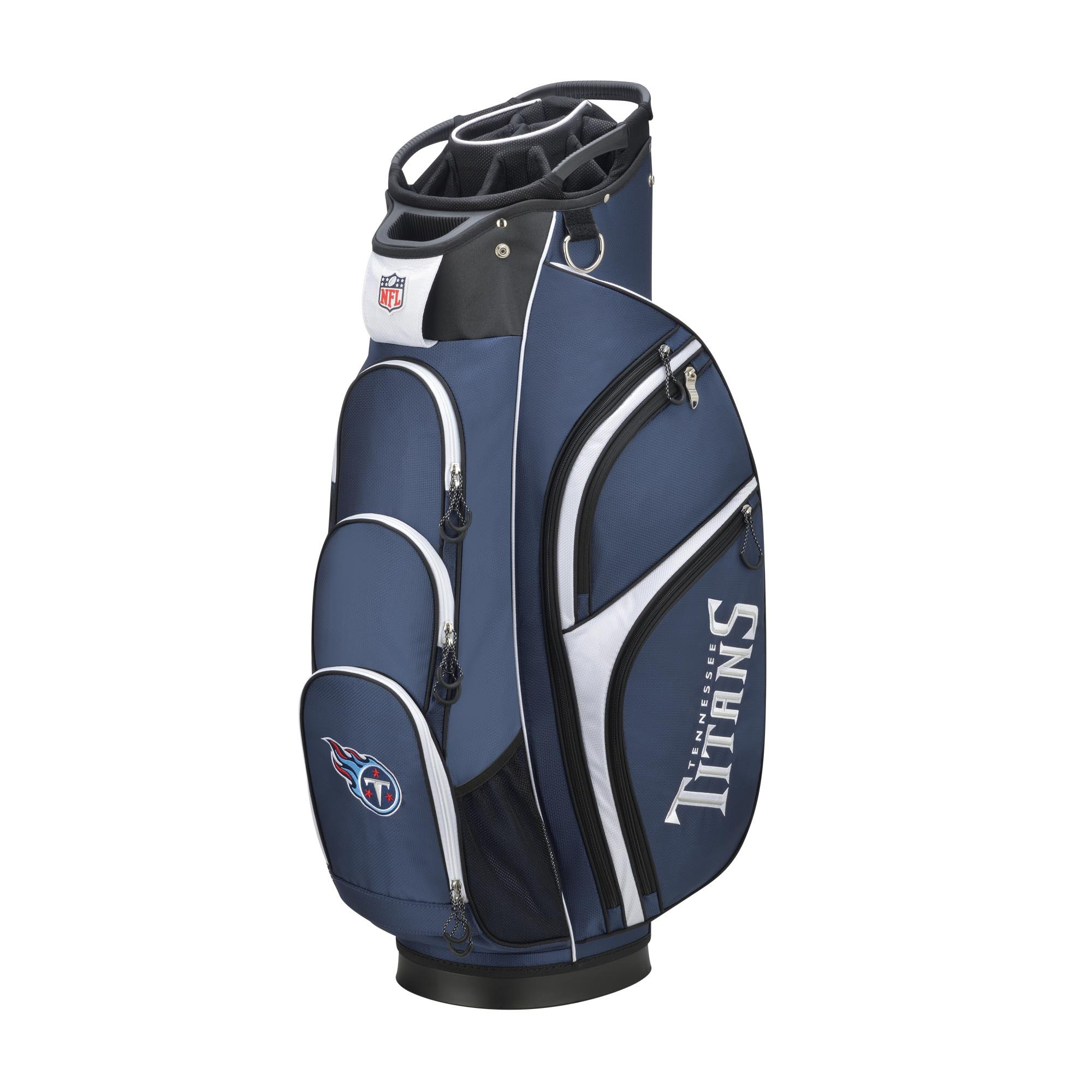 Wilson 2018 NFL Golf Cart Bag, Tennessee Titans by Wilson
