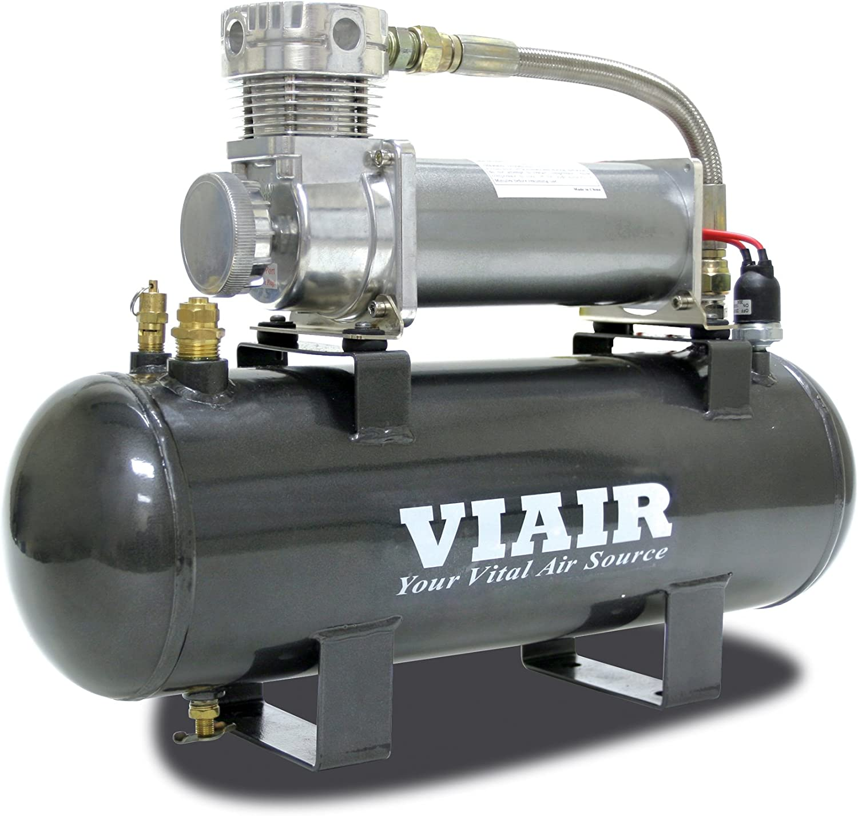 VIAIR 200 PSI High-Flow Air Source Kit