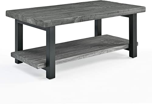 Best living room table: Sonoma 42″ Metal and Reclaimed Wood Coffee Table