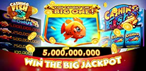 Cashing Fish Las Vegas Casino Slots! Free Big Gold Fish Casino Slot Machine Games with Old Vegas Style Spin to Win Jackpots from Rocket Speed