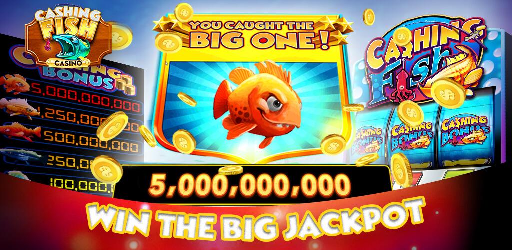 Cashing fish las vegas casino slots free big gold fish for Fish slot game