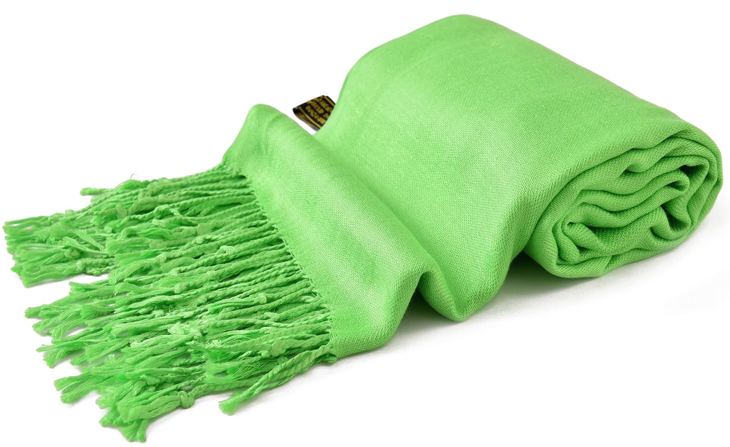 CJ Apparel Royal Blue Solid Colour Design Shawl Scarf Wrap Pashmina Seconds NEW