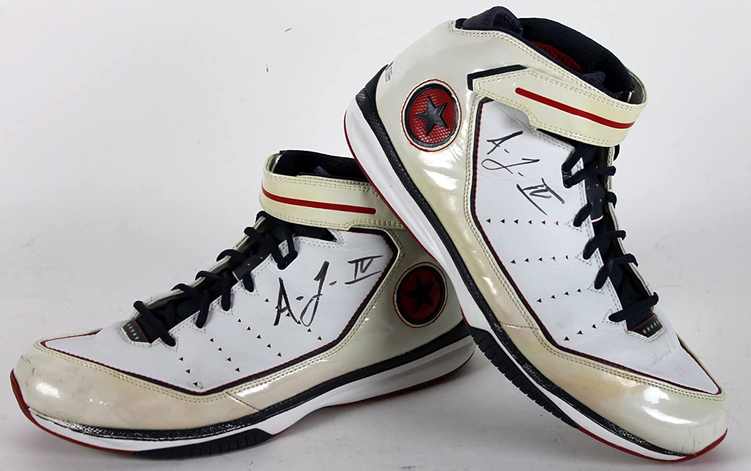 4be53903636 Warriors Acie Law IV Authentic Signed Game Used Size 14 Converse Shoes BAS  at Amazon s Sports Collectibles Store