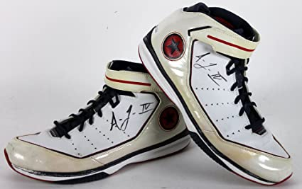 09428264f744eb Warriors Acie Law IV Authentic Signed Game Used Size 14 Converse ...