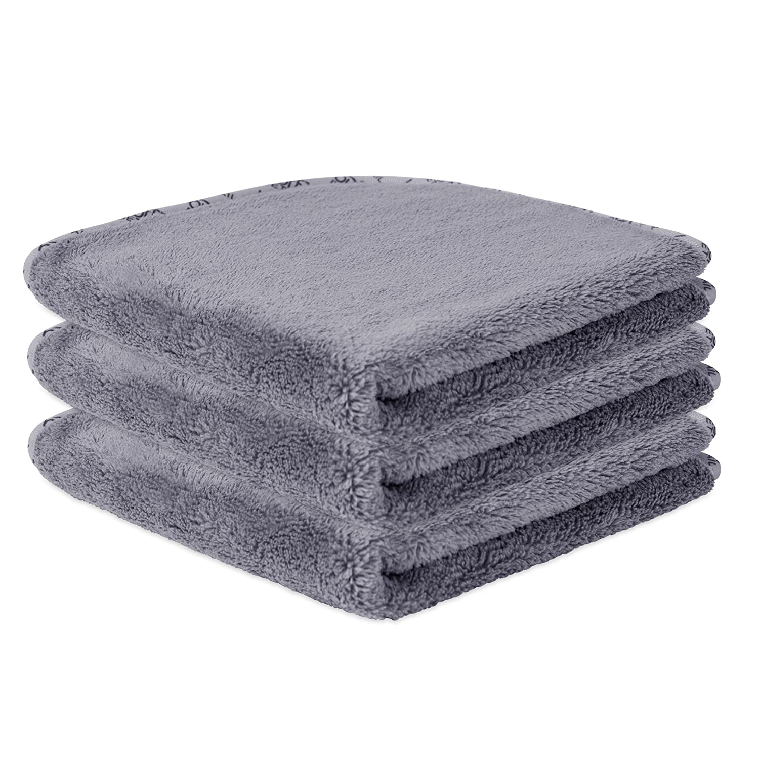 """16""""x16"""" Buff Detail Automotive Microfiber Polishing Cloths For Cars 