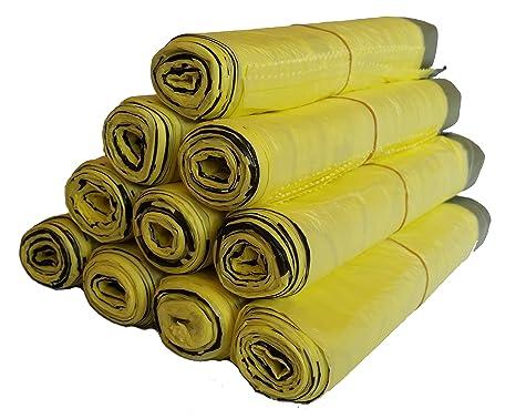 Saco de 5 Ruedas hasta 100 Amarillo, amarillas bolsas, 10 ...
