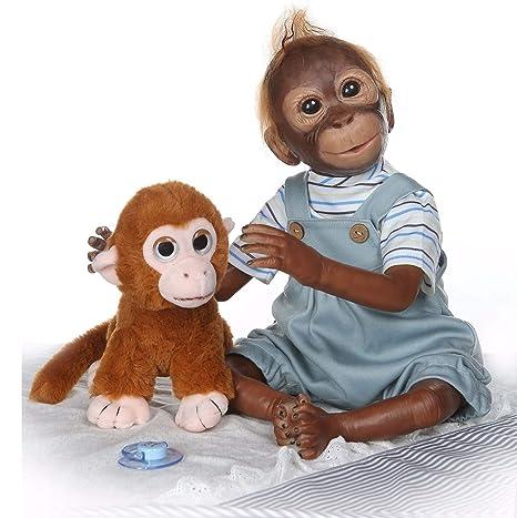 LPVIE Reborn Baby Dolls Mono Realista Twin Baby 20