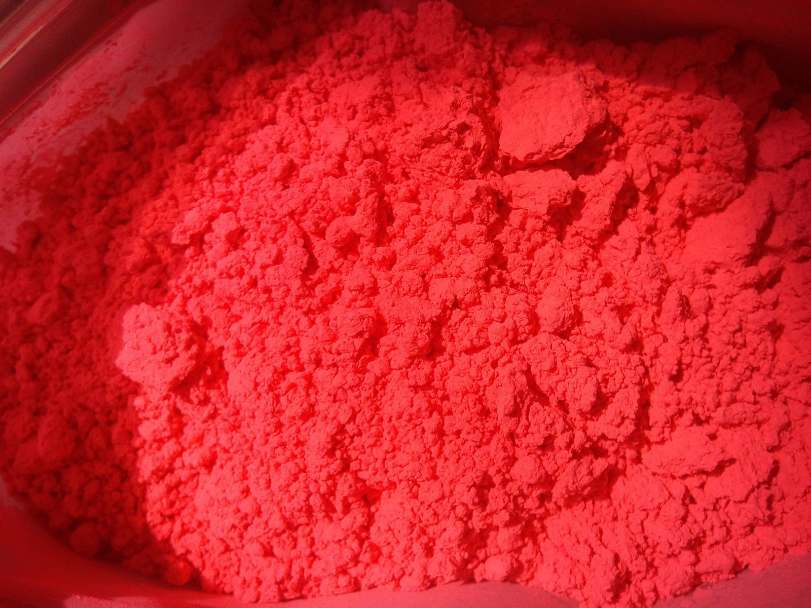 16 OZ FLUORSCENT RED ORANGE PIGMENT FOR SOAP COSMETIC