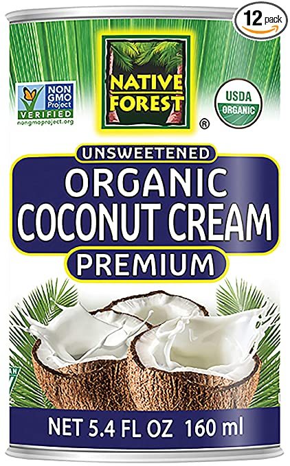 Native Forest Organic Premium Coconut Cream Unsweetened