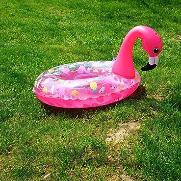 Anillo De Natación Del Bebé Flotador Flotador Del Asiento Del Bebé Inflable Flamenco Unicornio Flotador De