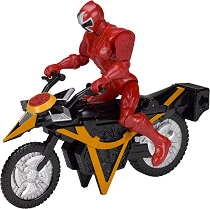 Power Rangers Super Ninja Steel Mega Morph Cycle, Red Ranger