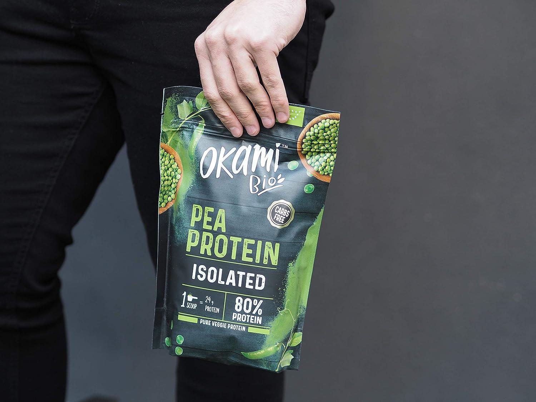 Okami Bio   Proteina De Guisante Bio   Proteína Vegana   Rica ...