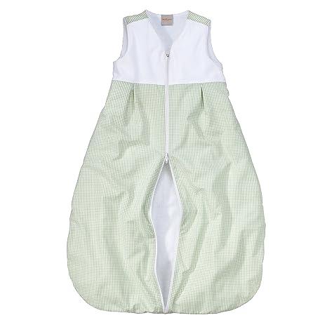 wellyou de saco de dormir para bebé – de forro polar de rizo vichy-check