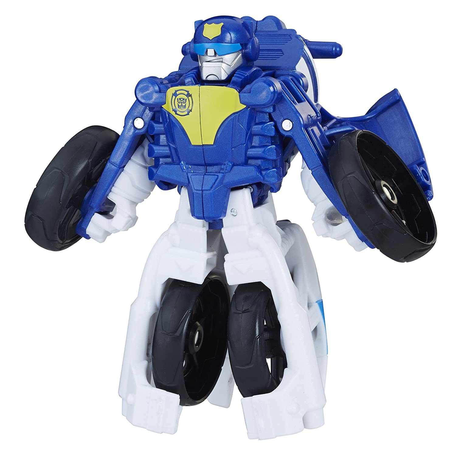 Playskool Heroes Transformers Rescue Bots Chase The Police-Bot Hasbro E0148