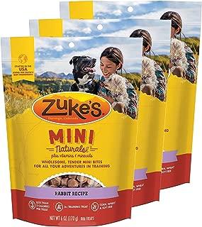 product image for Zuke's Mini Naturals Dog Treats Rabbit Recipe 6 oz 3 Pack