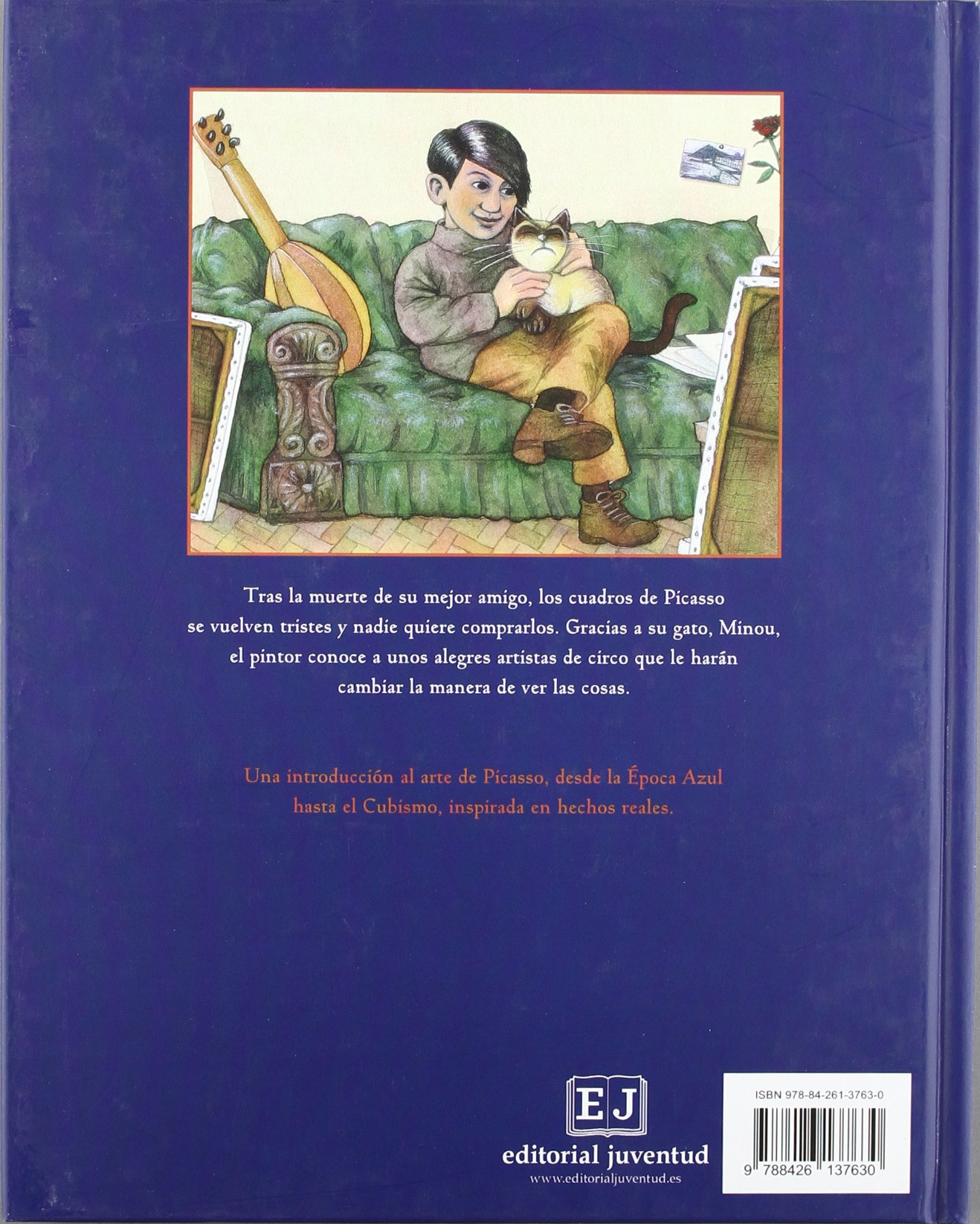 Picasso y Minou / Picasso and Minou (Spanish Edition): P. I. Maltbie, Pau Estrada: 9788426137630: Amazon.com: Books