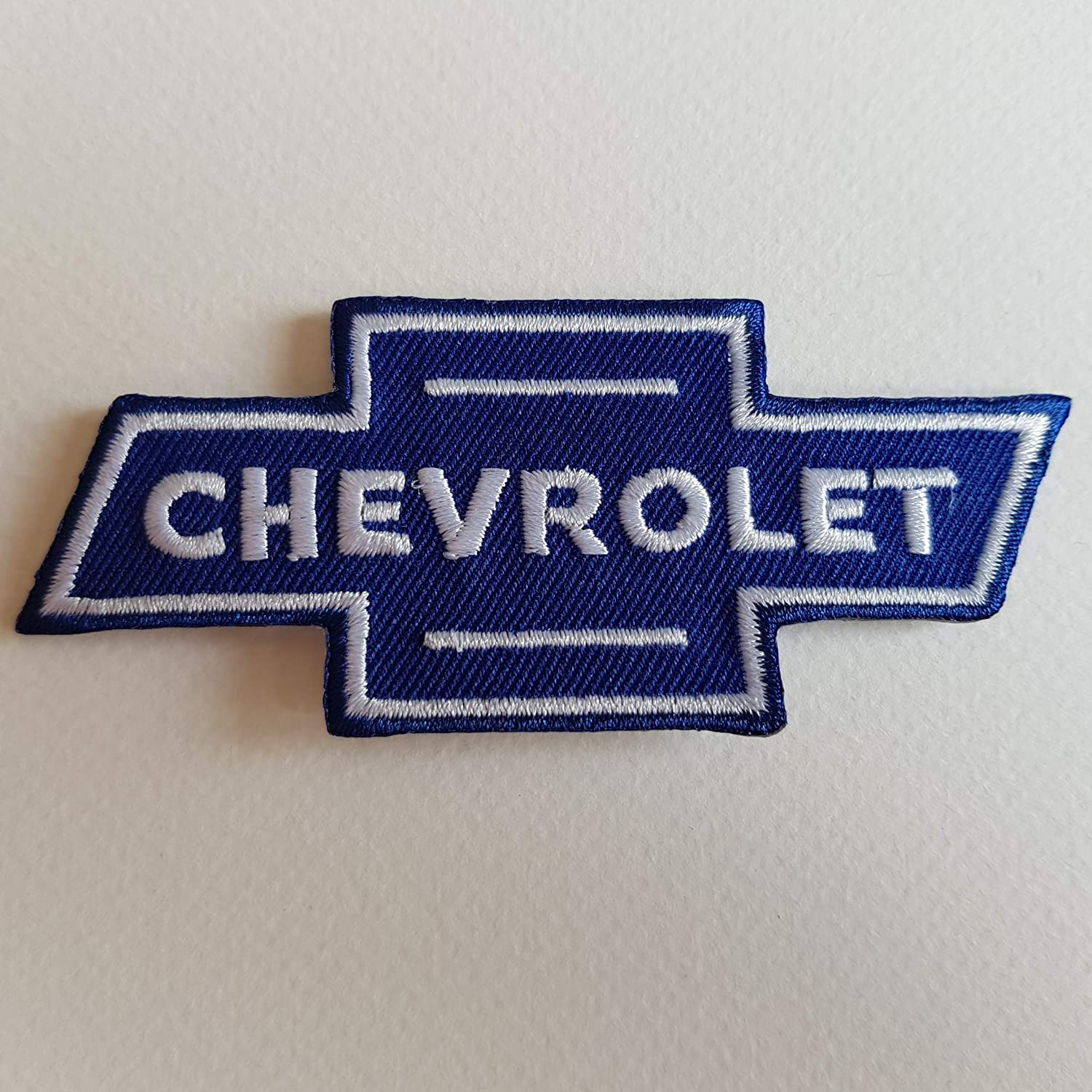 BLUE HAWAI ECUSSON Patches AUFNAHER Toppa THERMOCOLLANT - Chevrolet 10 * 4 CM