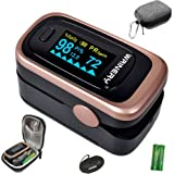 Oxygen Saturation Monitor, Pulse Oximeter Fingertip, Oxygen Monitor, O2 Saturation Monitor, OLED Portable Oximetry with…