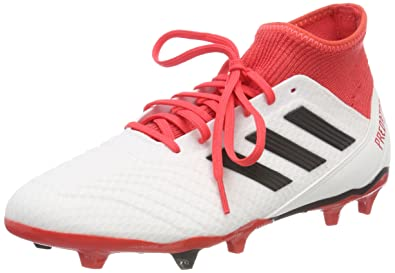 cheap for discount 7eef4 db824 adidas Predator 18.3 Fg, Scarpe da Calcio Uomo, Bianco Ftwwht cblack reacor