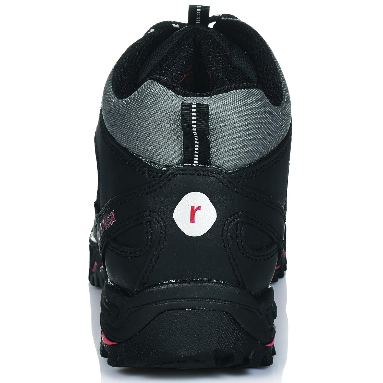 RuNNex Sicherheitshochschuhe LightStar leichte Schnürstiefel Schnürstiefel Schnürstiefel Größe 43 schwarz 5321 be96fc