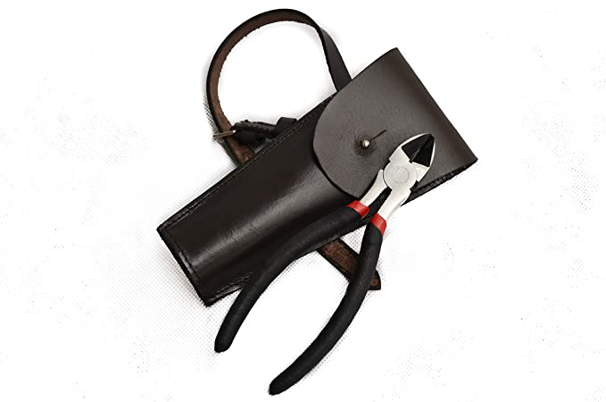 Equestrian Horse Riding Leather Wire Cutter Holsters