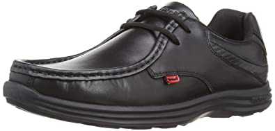 Kickers Reasan Lace Lthr Am, Zapatos de Cordones para Hombre, Negro (Black), 46