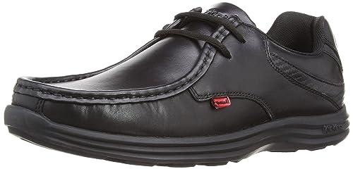 Kickers Reasan Lace Lthr Am, Zapatos de Cordones para Hombre, Negro (Black), 40