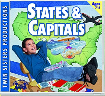 Twin Sisters Productions, Twin Sisters - States & Capitals Music ...
