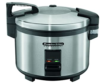 Proctor Silex Commercial 37540 Stainless Steel Rice Cooker
