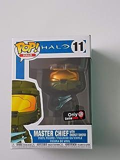 Amazon.com: Funko POP! Games: Halo Sergeant Johnson (Styles ...
