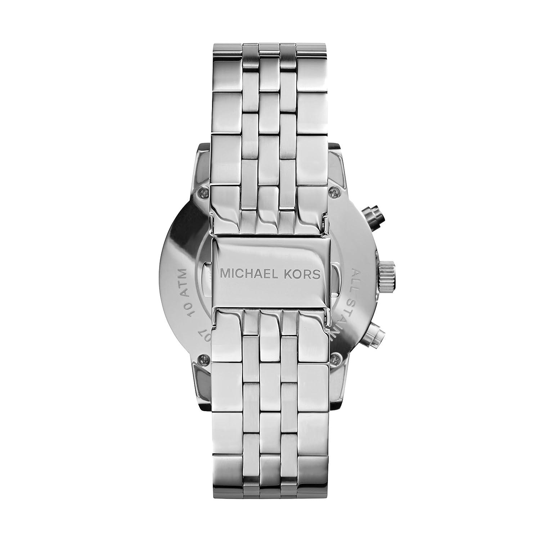 01b619ad3175 Amazon.com  Michael Kors Women s Ritz Silver-Tone Watch MK5020  Michael Kors   Watches