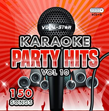Karaoke Party Hits Vol 10 CDG CD+G Disc Set - 150 Songs on 8 Discs  Including The Best Ever Karaoke Tracks Of All Time (The Greatest Showman  ,Ariana