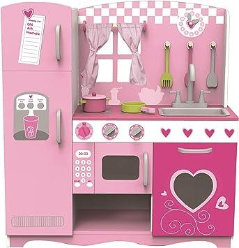 Classic World 4119 Pink Kitchen Rosa Kuchen Set Amazon De Spielzeug