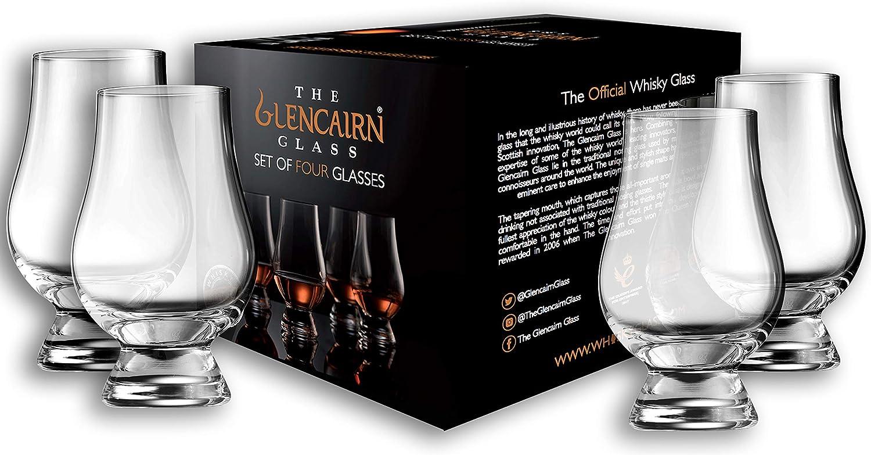 Glencairn Glass Islay Whisky Notes Candle Scotch Whisky Gift on Individual Oak Stave  Coaster Peat Smoke ~ Island Flowers ~ Sea Salt