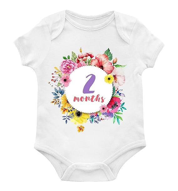 4280da2a0bb Amazon.com  InkCallies 2 Months Baby Onesie