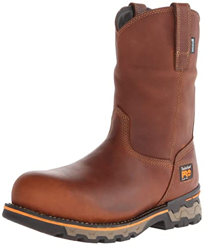 Timberland PRO Men's AG Boss Pull On Alloy Toe WP Work and Hunt Boot,
