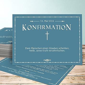 Einladungskarten Zur Konfirmation Basteln Wegrichtung 40