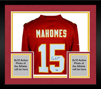 Framed Patrick Mahomes Kansas City Chiefs Autographed Red Nike Game Jersey  - Fanatics Authentic Certified b47136307