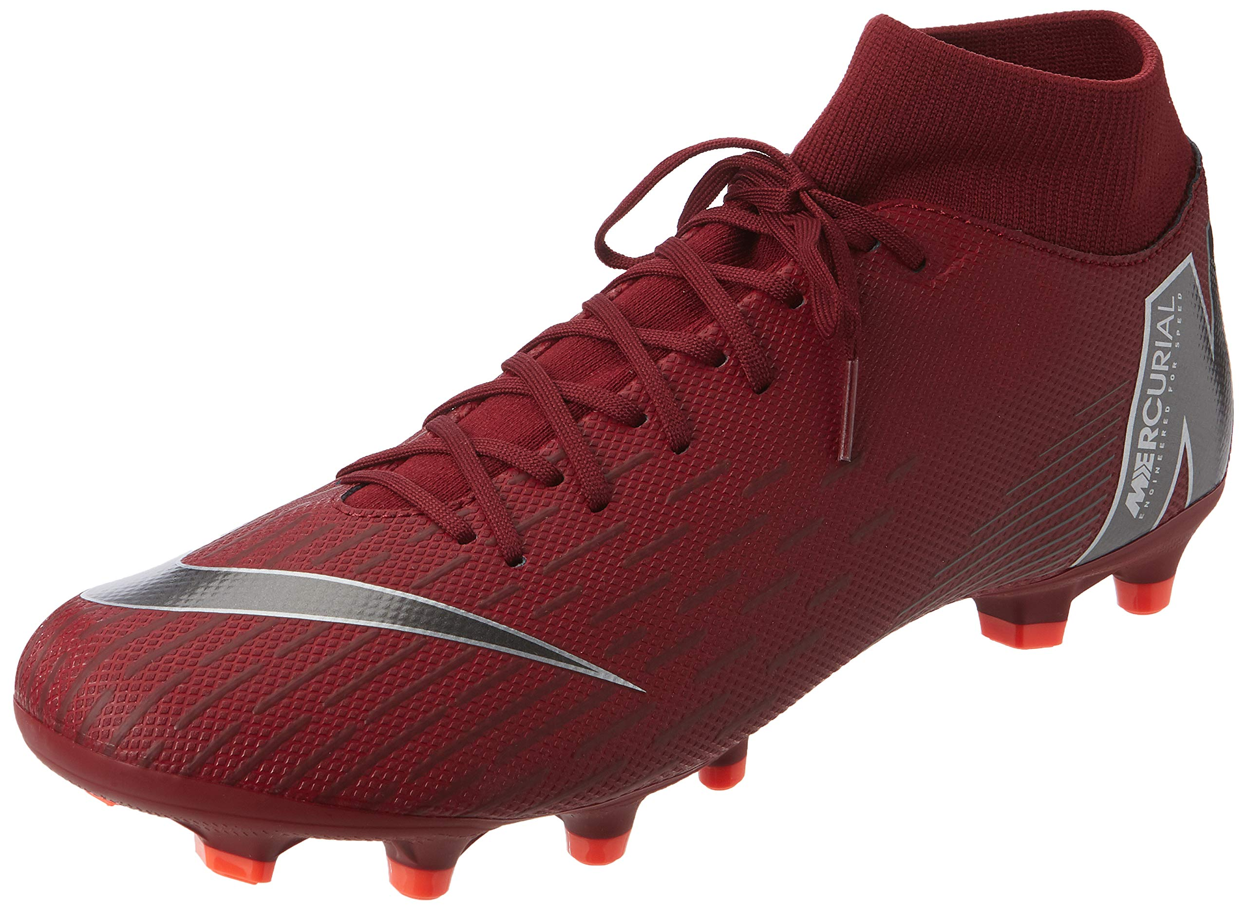 Nike Mercurial Superfly 6 Academy MG Soccer Cleat (Team Red) (Men's 8.5/Women's 10)