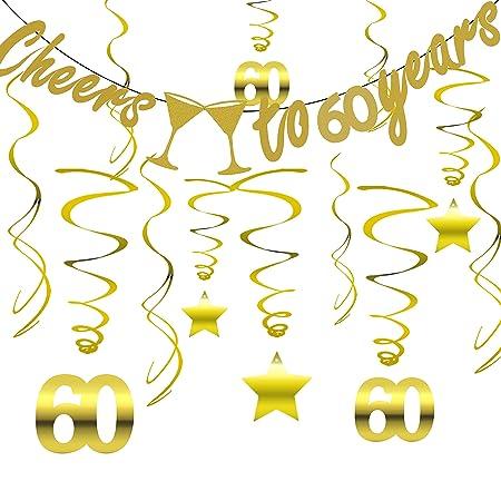Tuoyi - Kit de decoración para fiesta de cumpleaños número ...