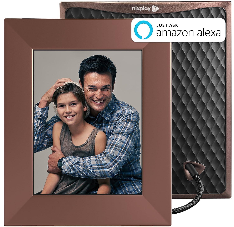 Nixplay Iris 8 Zoll Smarter Bilderrahmen, Fotos per: Amazon.de: Kamera
