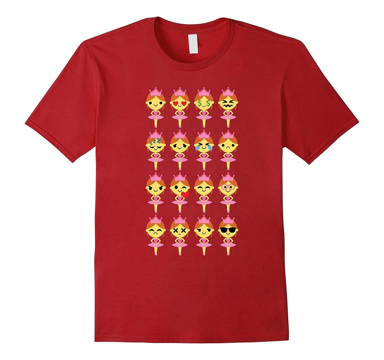 89679b10b Ballet Dancer Emoji Shirt T-Shirt Tee-PL – Polozatee