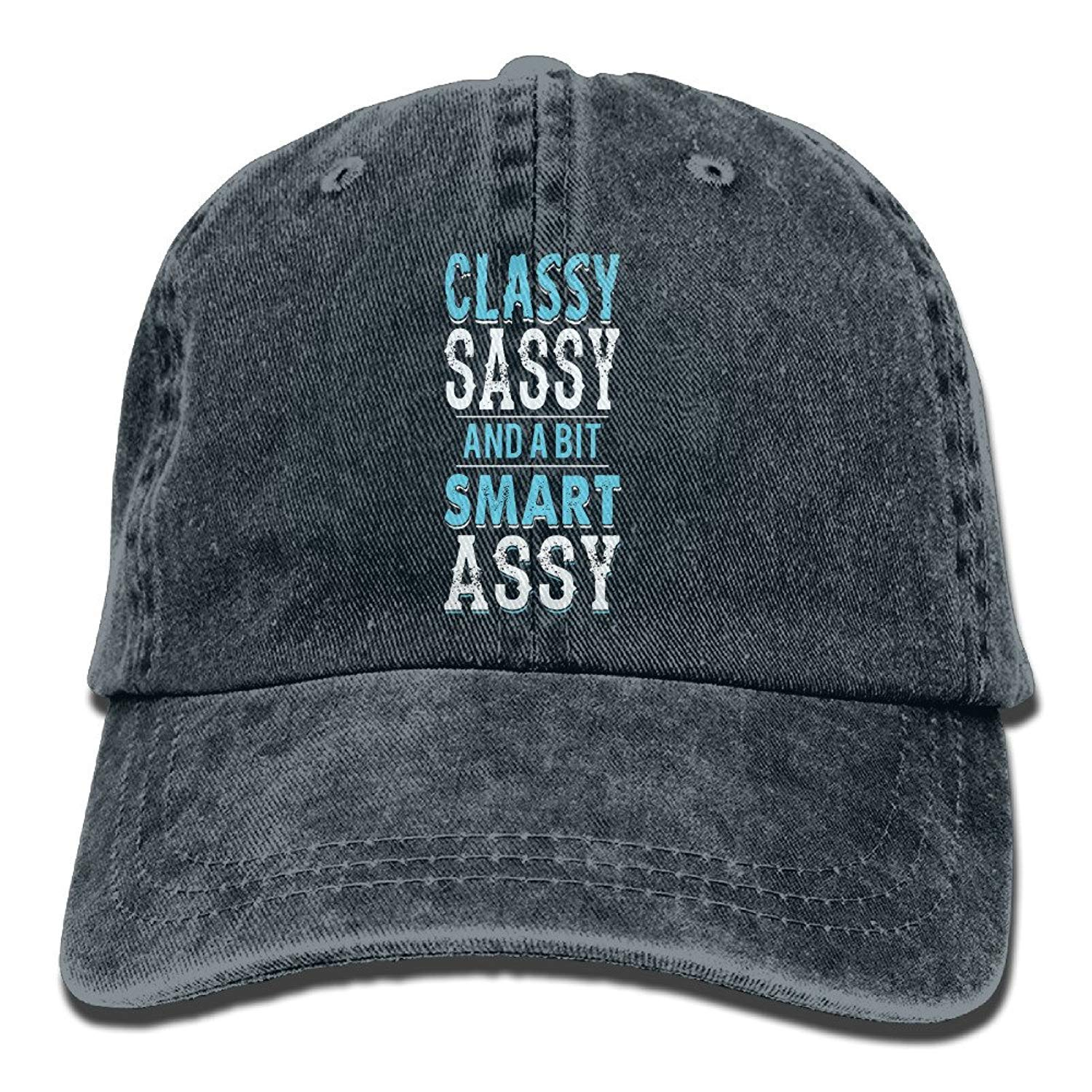 JTRVW Cowboy Hats Classy Sassy and A Bit Smart Assy Adult Individuality Cowboy Hat