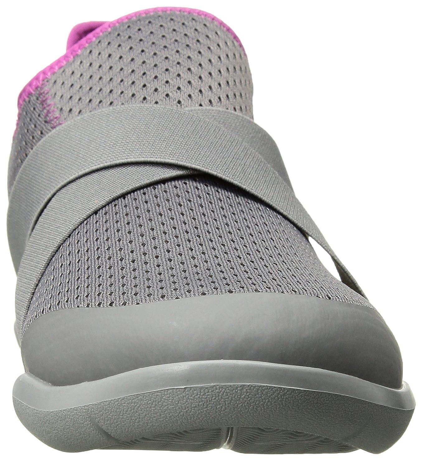 Crocs Damen Swiftwater X-Strap Pantoletten, Pantoletten, X-Strap schwarz Smoke/Light Grau 0faf2a