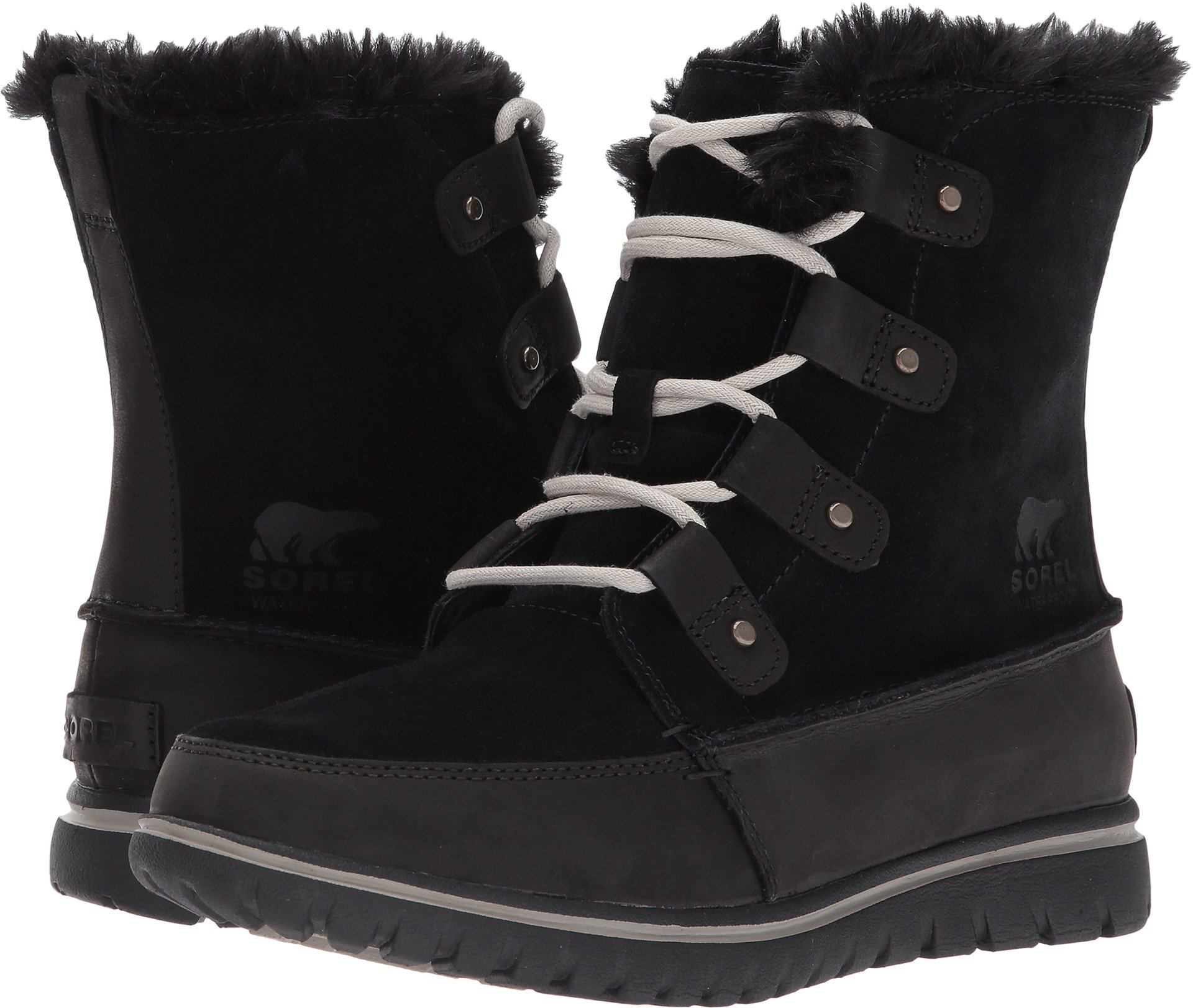 SOREL Women's Cozy Joan Black Boot