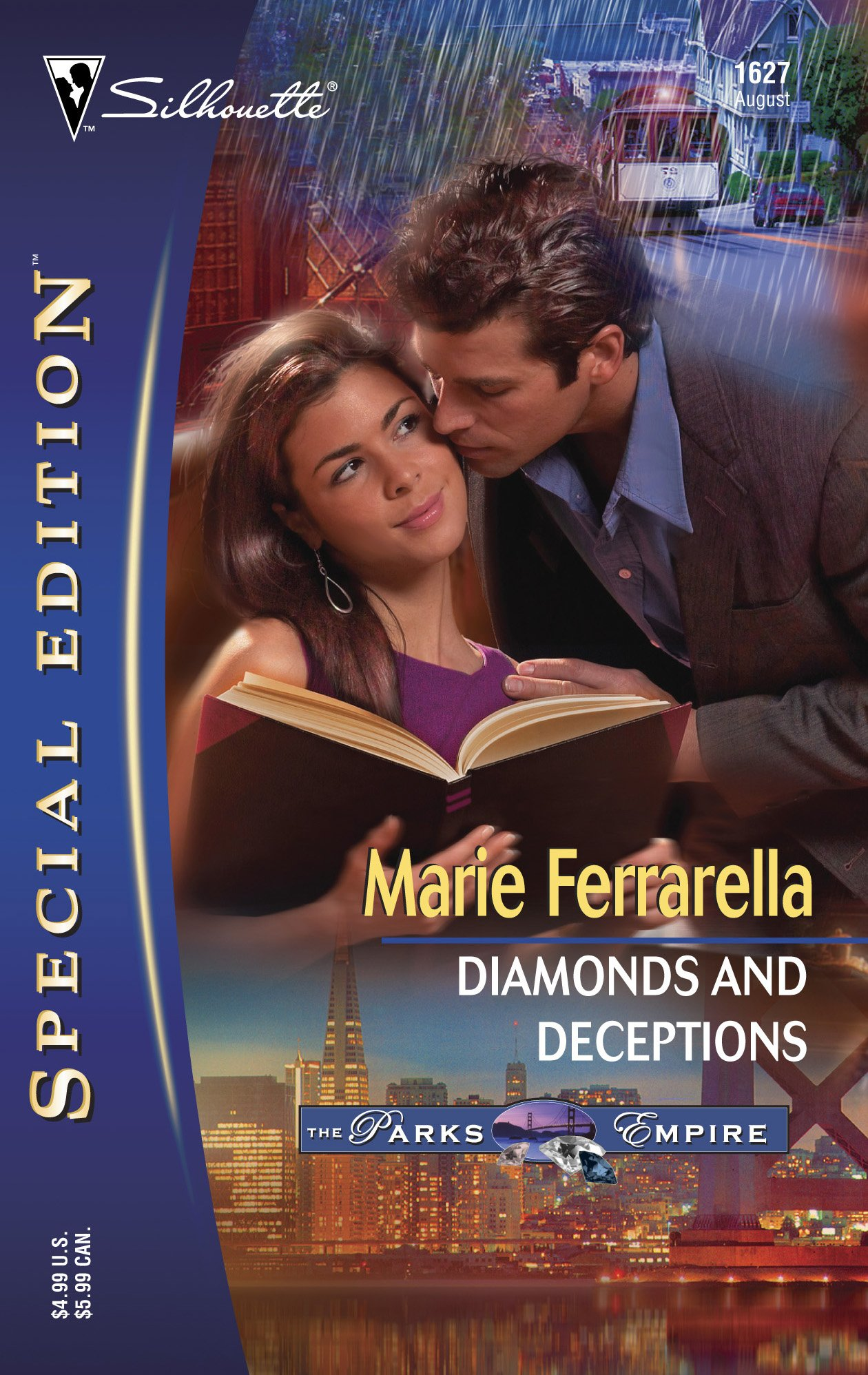 Read Online Diamonds and Deceptions: The Parks Empire (Silhouette Special Edition No. 1627) PDF