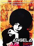 Angela Davis Poster Liberate Minds and Society Art Print (18x24)