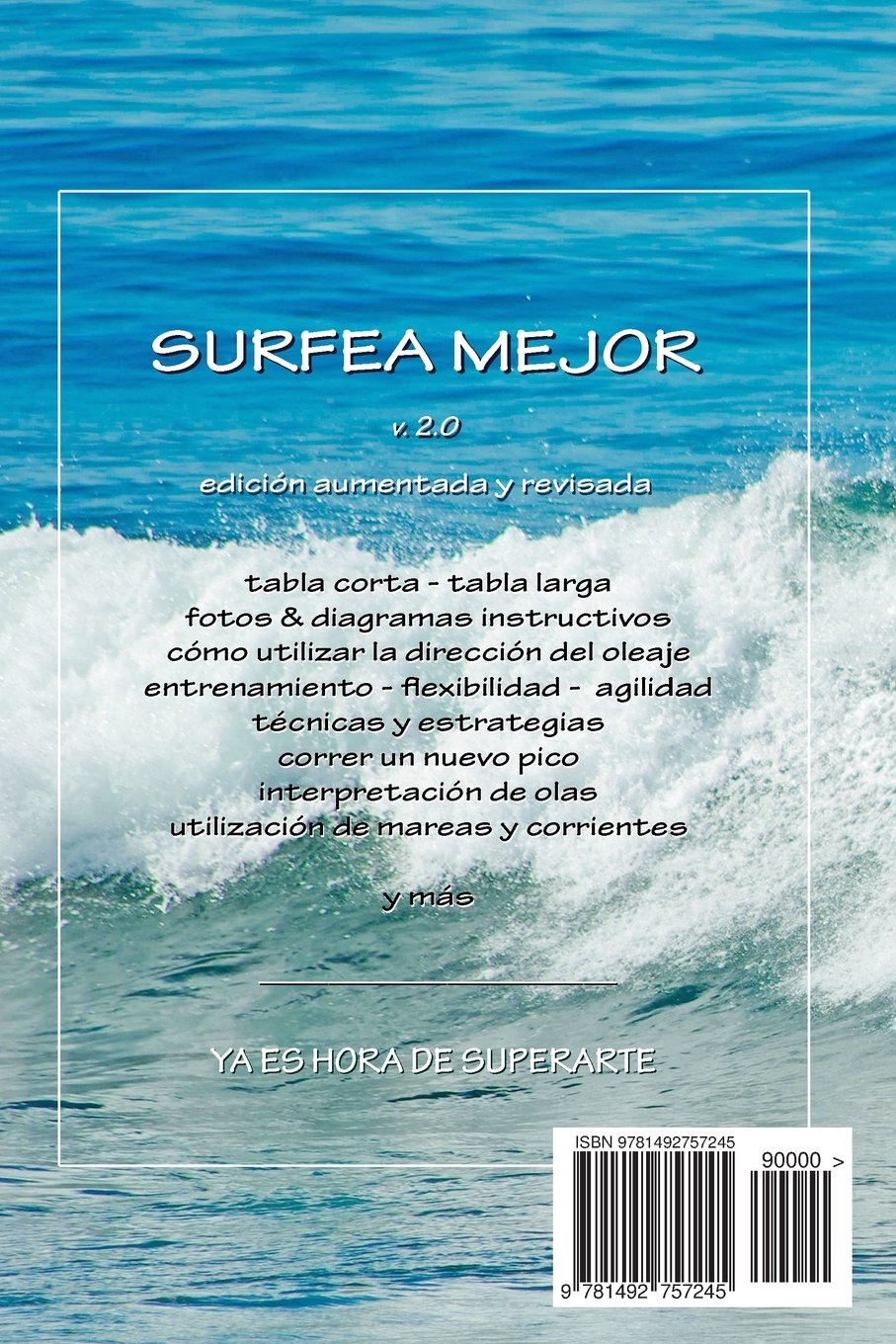 Surfea Mejor - táctica y práctica del surf (Spanish Edition): Dave Rearwin: 9781492757245: Amazon.com: Books