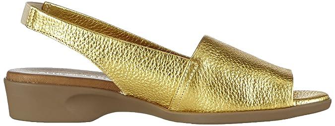 Aerosoles Cush Flow, Damen Sandalen, Gold (Gold), 37.5 EU (4.5 Damen UK):  Amazon.de: Schuhe & Handtaschen