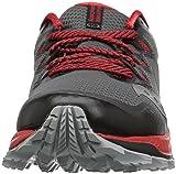 Saucony Men's Peregrine 8 Sneaker, Black/red, 8.5 M